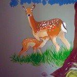 muurschildering bos landscap laten maken