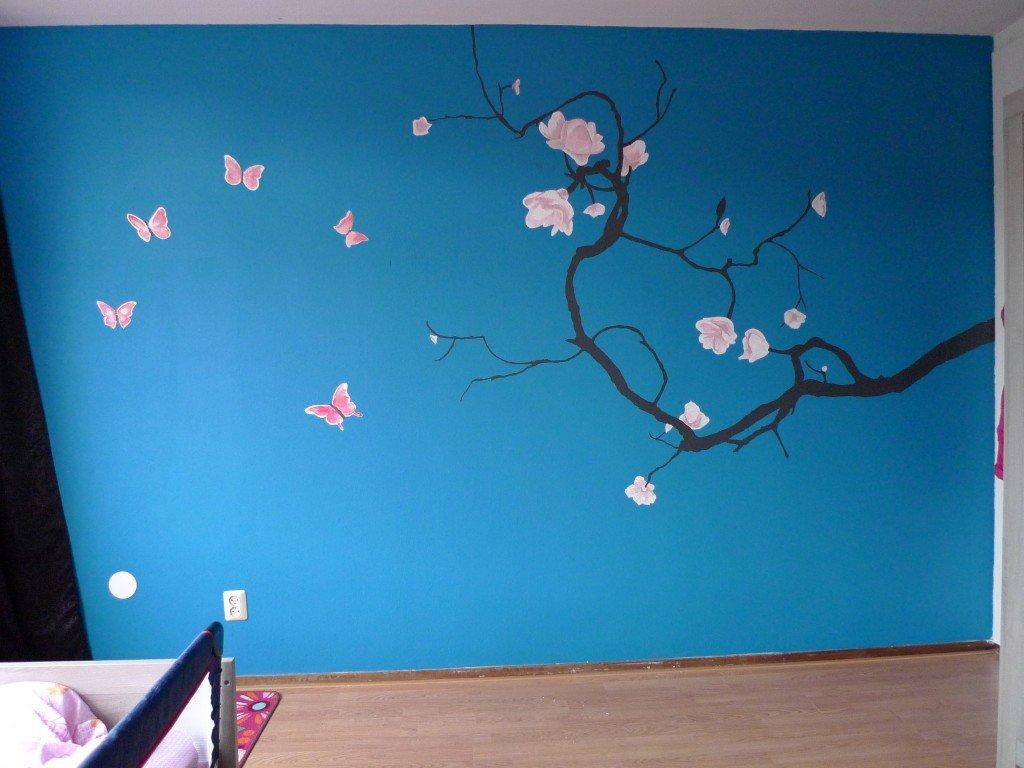 muurschildering slaapkamer laten maken