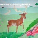 muurschildering dieren