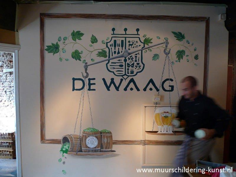 logo laten schilderen