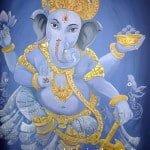 hindoestaanse muurschildering