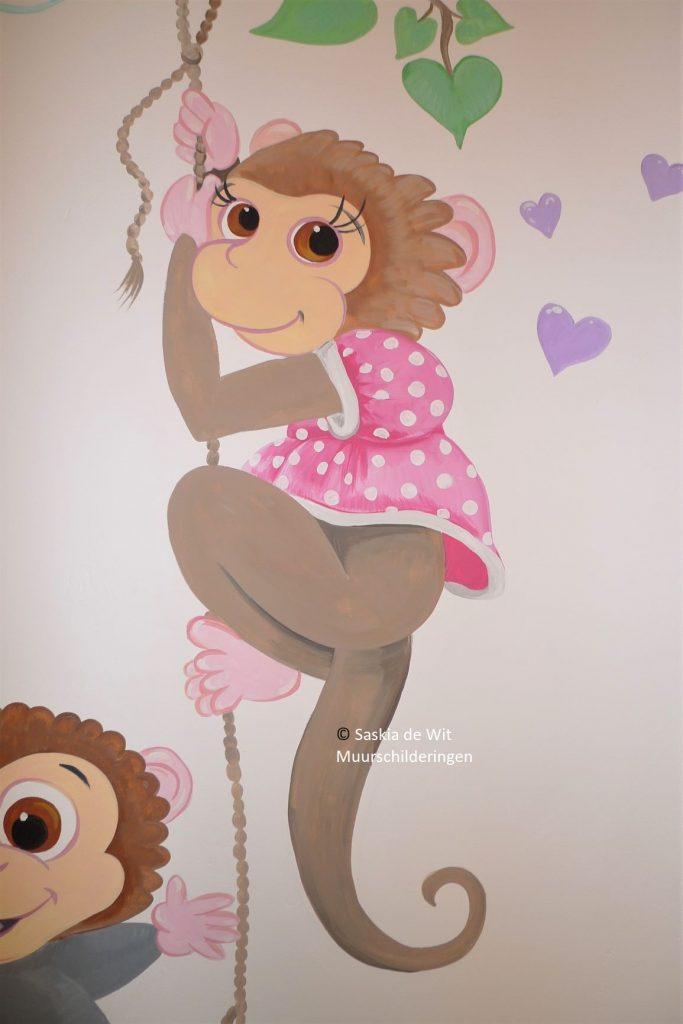 babykamer aapjes
